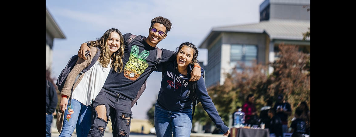 Students at UC Merced